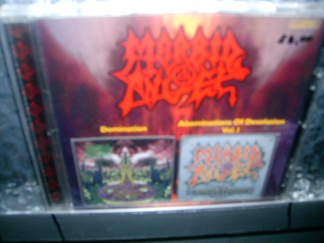 MORBID ANGEL domination abominations of desolation CD 1995 1986 DEATH METAL