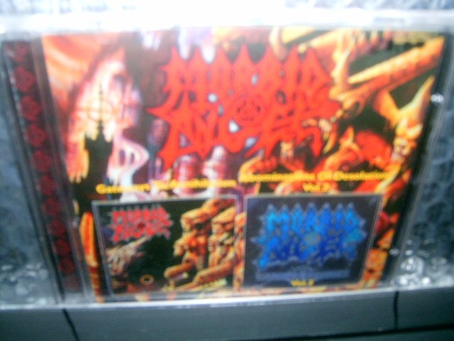 MORBID ANGEL gateways to annihilation abominations of desolation CD 2000 1986 DEATH METAL