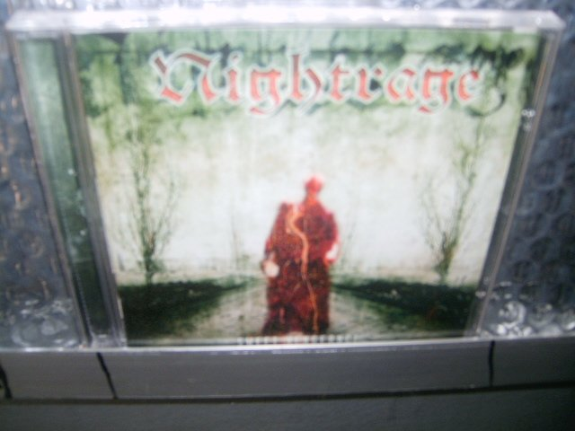 NIGHTRAGE sweet vengeance CD 2003 THRASH/DEATH METAL