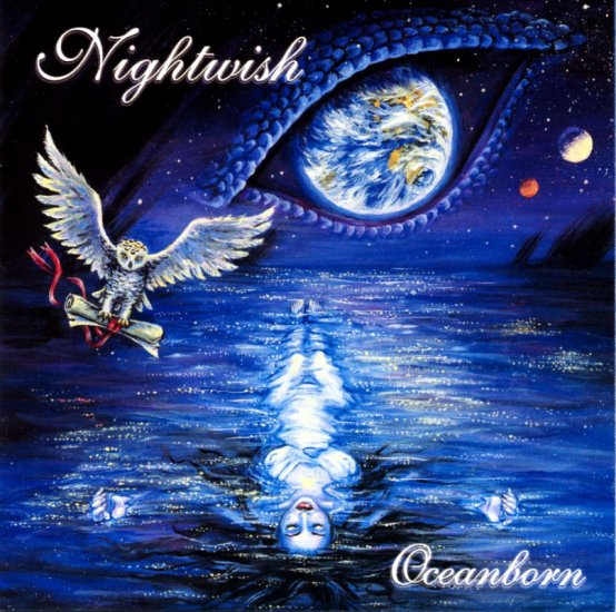 NIGHTWISH oceanborn CD 1998 METAL GOTICO