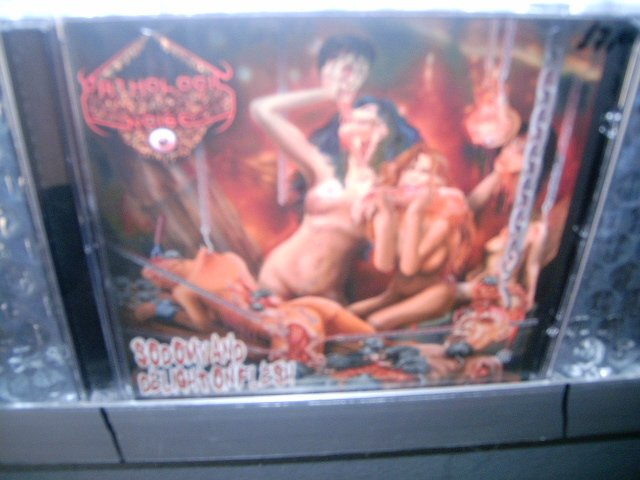PATHOLOGIC NOISE sodomy and delight on flesh CD 2003 BRUTAL DEATH METAL