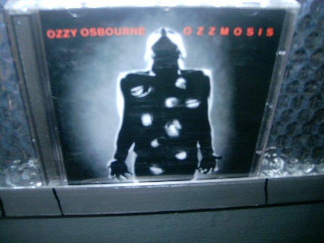 OZZY OSBOURNE ozzmosis CD 1995 HEAVY METAL
