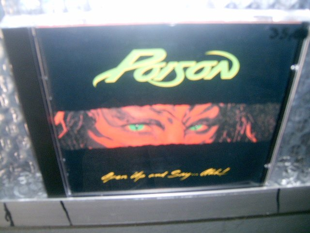 POISON open up and say...ahh! CD 1988 HARD ROCK