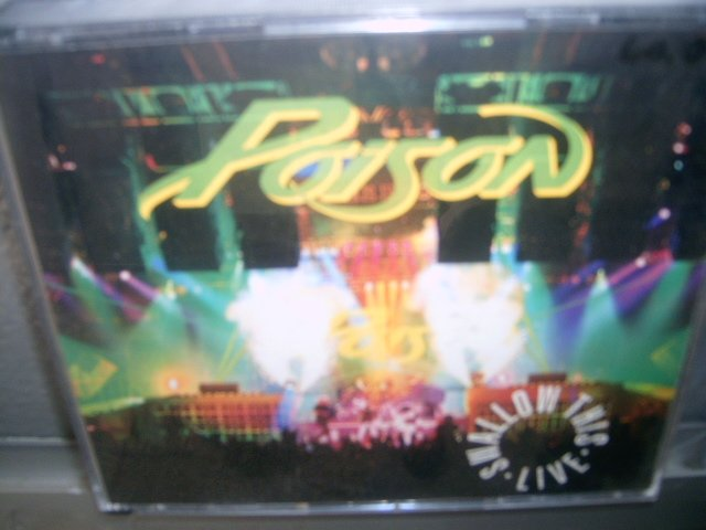 POISON swallow this live 2CD 1991 HARD ROCK