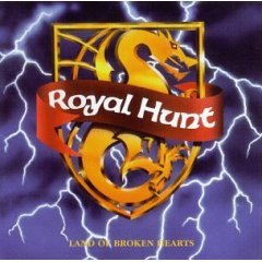 ROYAL HUNT land of broken hearts CD 1992 HEAVY METAL