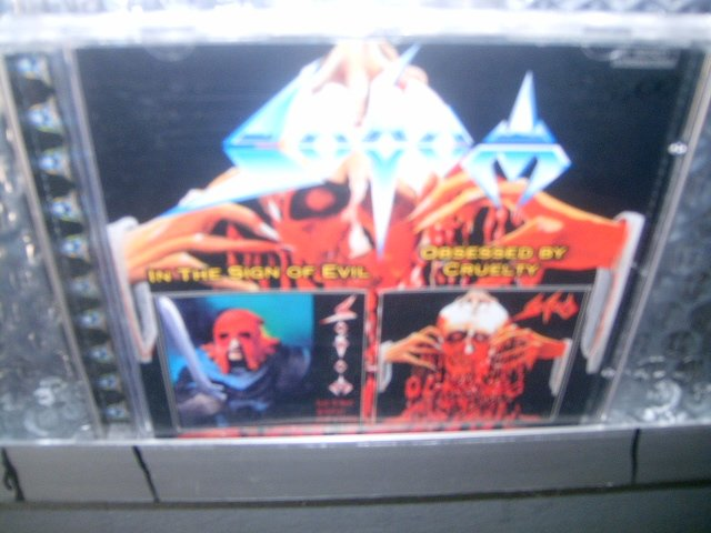 SODOM in the sign of evil / obsessed by cruelty CD 1984/1986 THRASH METAL