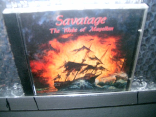 SAVATAGE wake of magellan CD 1997 HEAVY METAL