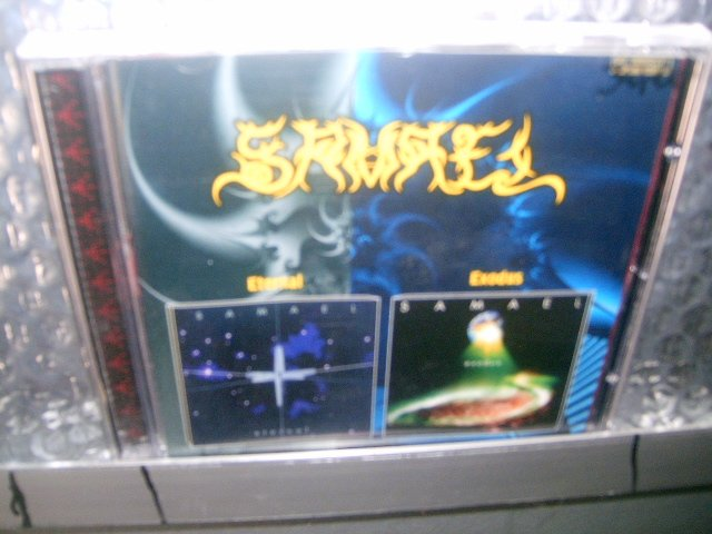 SAMAEL eternal exodus CD 1999 1998 INDUSTRIAL BLACK METAL