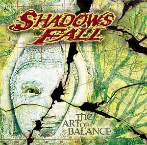 SHADOWS FALL the art of balance CD + CD ROM 2003 METALCORE