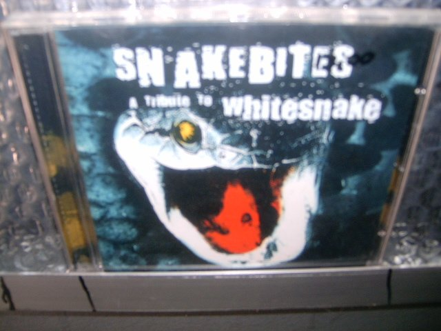 SNAKEBITES a tribute to whitesnake CD 2001 HARD ROCK