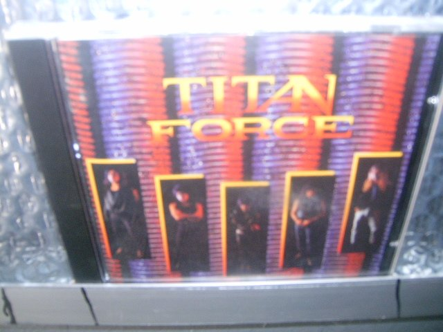 TITAN FORCE all what it is CD ? HEAVY METAL