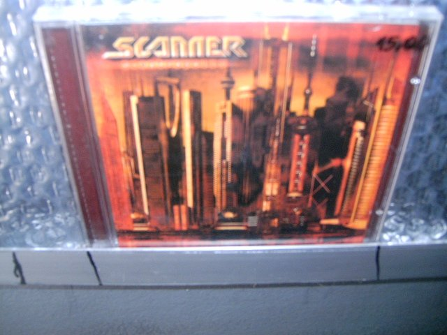 SCANNER scantropolis CD ? HEAVY METAL
