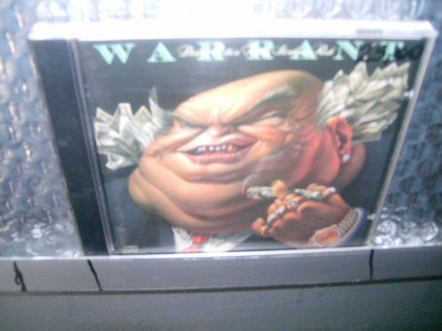 WARRANT dirty rotten filthy stinking rich CD 1988 HARD ROCK