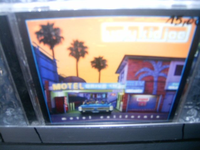 UGLY KID JOE motel california CD 1996 GRUNGE