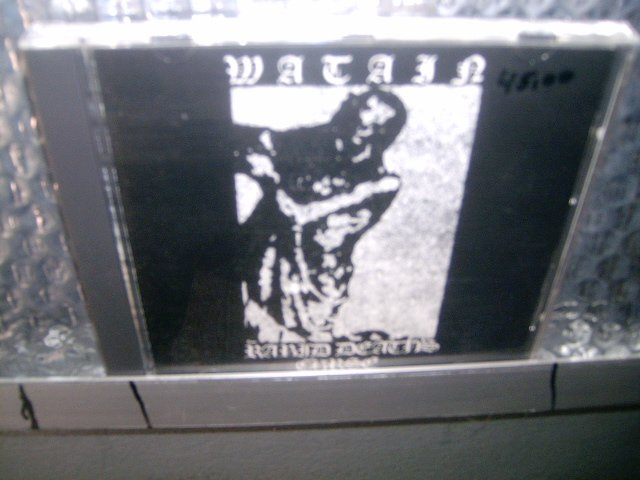 WATAIN rabid death's curse CD 2004 BLACK METAL