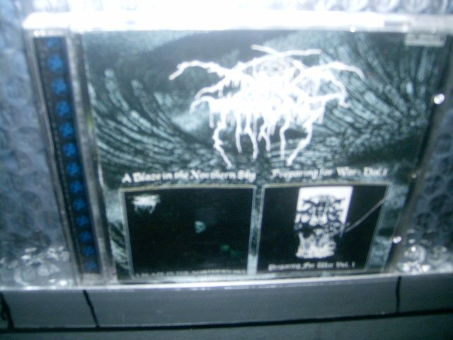 DARK THRONE ablaze in the northern skypreparing for war vol I CD 1991 2001 BLACK METAL