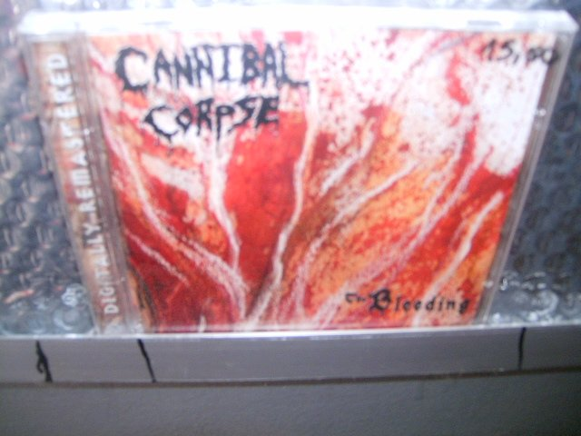 CANNIBAL CORPSE the bleeding CD 1993 DEATH METAL