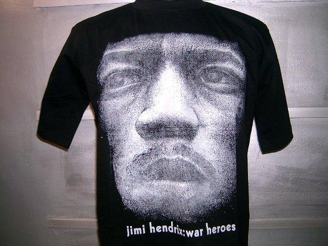 JIMI HENDRIX T SHIRT BLACK L