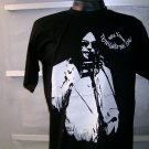 NEIL YOUNG  T SHIRT BLACK L