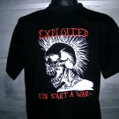 THE EXPLOITED T SHIRT BLACK L