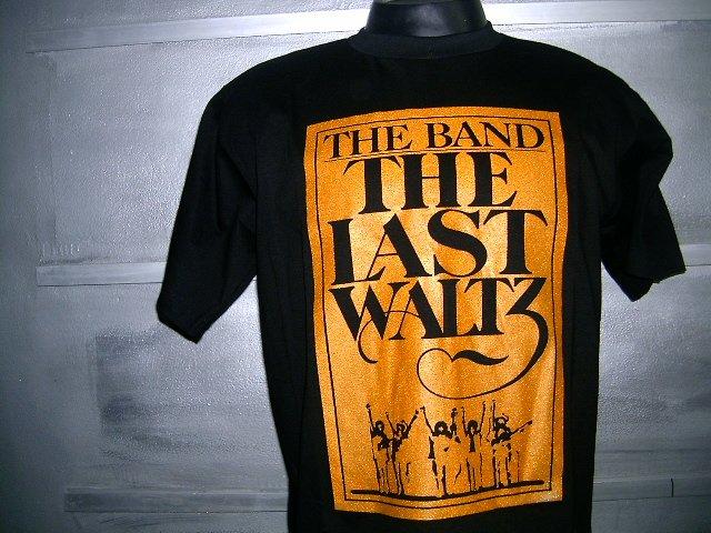 THE BAND  T SHIRT BLACK L