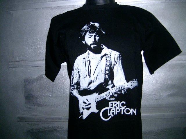 ERIC CLAPTON T SHIRT BLACK L