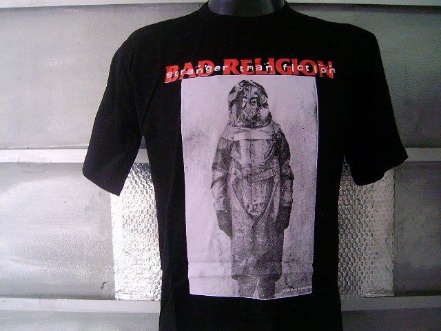BAD RELIGION T SHIRT BLACK L