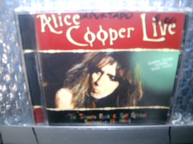 ALICE COOPER live CD 2001 HARD ROCK