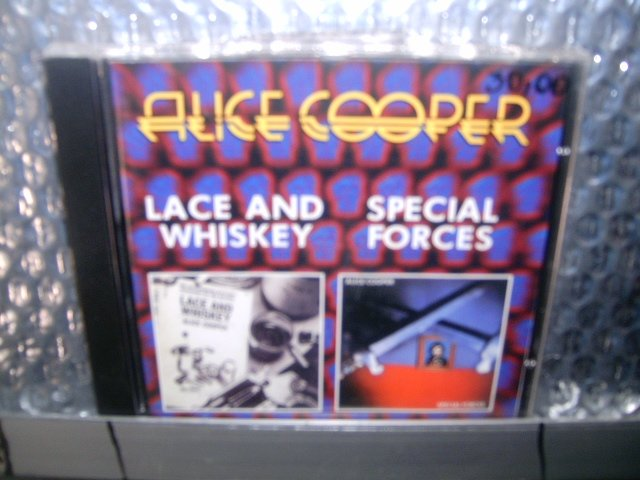 ALICE COOPER lace and whiskey special forces CD 1997 1981 ROCK