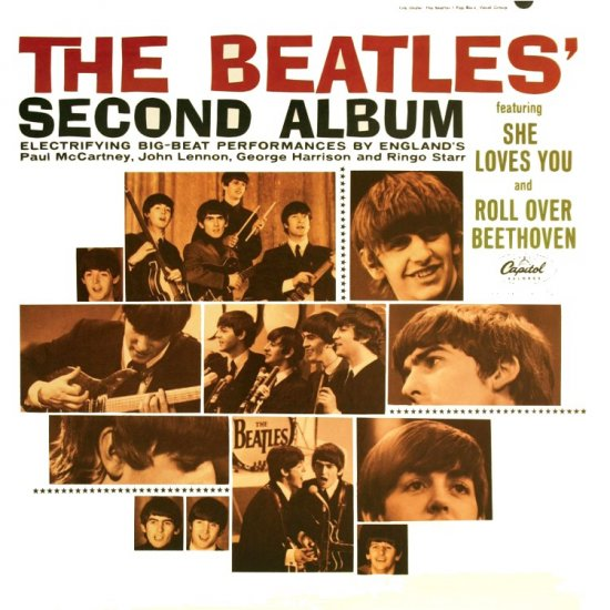 BEATLES second album CD FORMATO MINI VINIL 196? ROCK