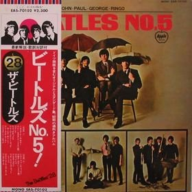 BEATLES NO.5 CD FORMATO MINI VINIL  196? ROCK
