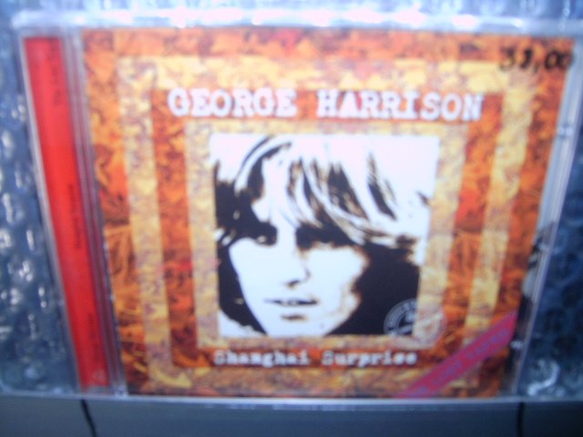 GEORGE HARRISON shanghai surprise cd 2004 rock