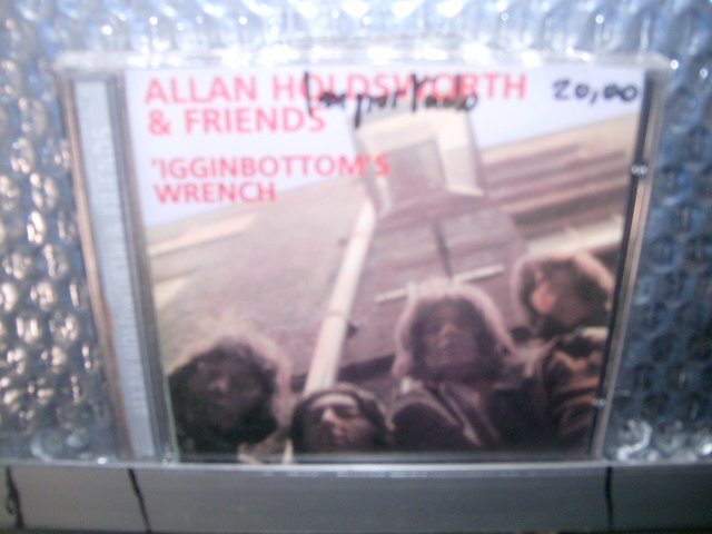 ALLAN HOLDSWORTH & FRIENDS igginbottom's wrench CD 1969 ROCK