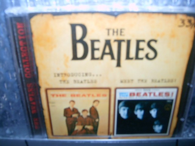 THE BEATLES introducing...the beatles meet the beatles CD 1963 1964 ROCK