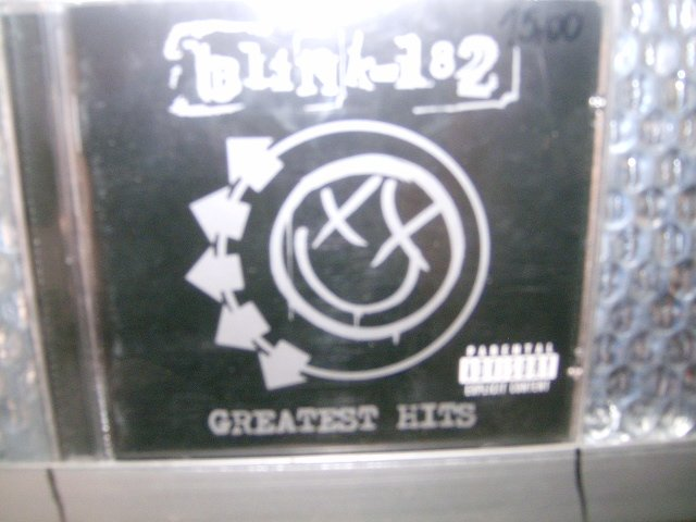 BLINK 182 greatest hits CD 2002 ROCK