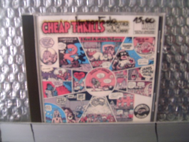 CHEAP THRILLS big brother and the holding company CD 19? ROCK 60