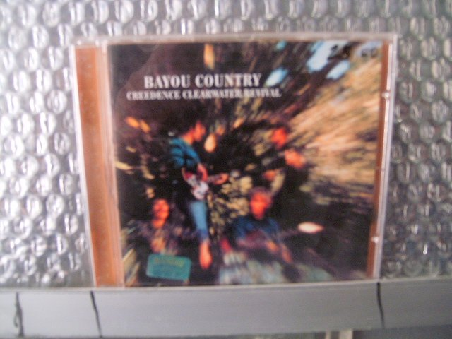 CREEDENCE CLEARWATER REVIVAL bayou country CD 1969 ROCK