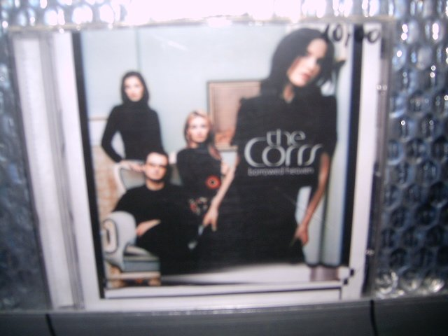 THE CORRS borrowed heaven CD 2004 FOLK POP