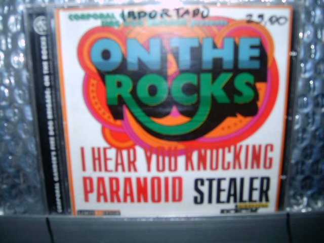 ON THE ROCKS on the rocks CD 1997 ROCK