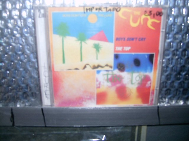 THE CURE boys don't cry - the top CD 1980 1984 P�S PUNK