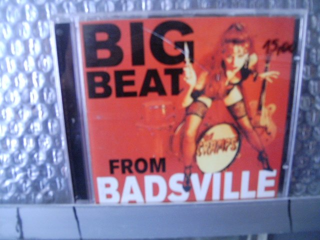THE CRAMPS big beat from badsville CD 1997 HORROR ROCK