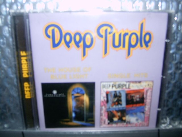 DEEP PURPLE the house of blue light single hits CD 1987 1969 HARD ROCK