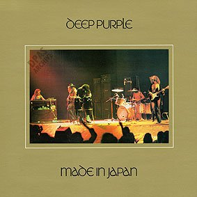 DEEP PURPLE made in japan CD 1972 HARD ROCK