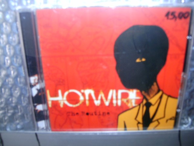 HOTWIRE the routine CD 2003 POP ROCK