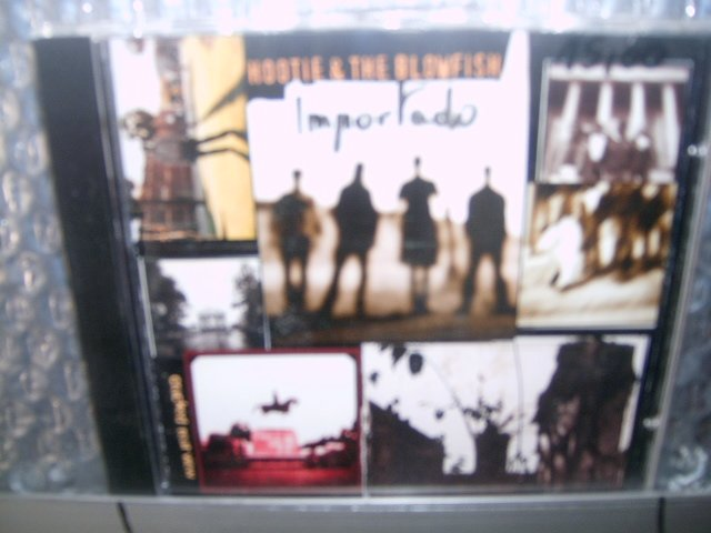 HOOTIE & THE BLOWFISH cracked rear view CD 1994 ROCK