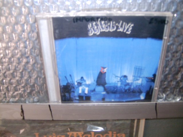 GENESIS live CD 1973 PROGRESSIVE ROCK