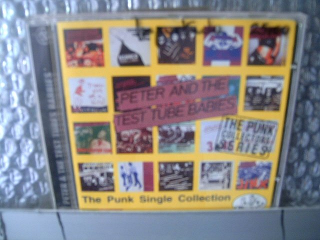 PETER & TEST TUBE BABIES the punk single collection CD 19? PUNK ROCK