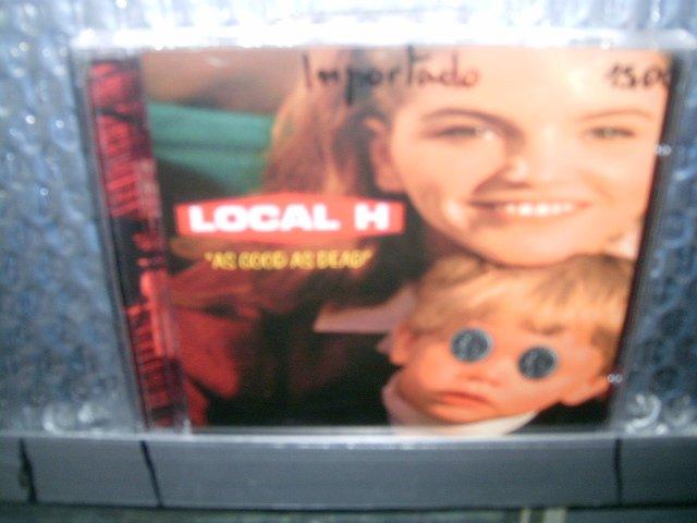 LOCAL H as good as dead CD 1996 ALTERNATIVE ROCK