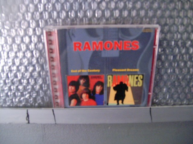 RAMONES end of the century pleasant dreams CD 1980 1981 PUNK ROCK