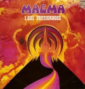 MAGMA 1.001 centigrades CD 1971 PROGRESSIVE ROCK
